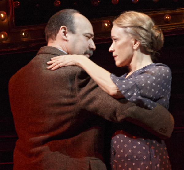 Danny Burstein and Linda Emond are 2014 Tony Award nominees for Cabaret.