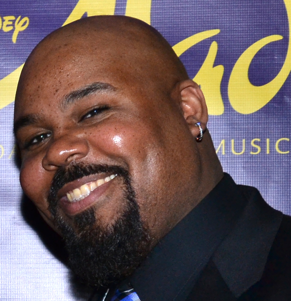 James Monroe Iglehart is a first-time Tony nominee for his performance as Genie in Aladdin.