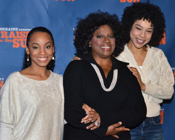 Anika Noni Rose, LaTanya Richardson Jackson, and Sophie Okonedo are all nominated for their performances in A Raisin in the Sun.