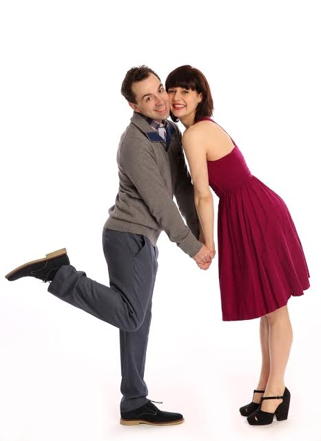 Rob McClure and Jennifer Bowles star as a Parisian lady of the evening and a law student in Irma La Douce, playing at New York City Center from May 7-11.