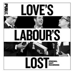 The Love's Labour's Lost original cast recording's album cover.