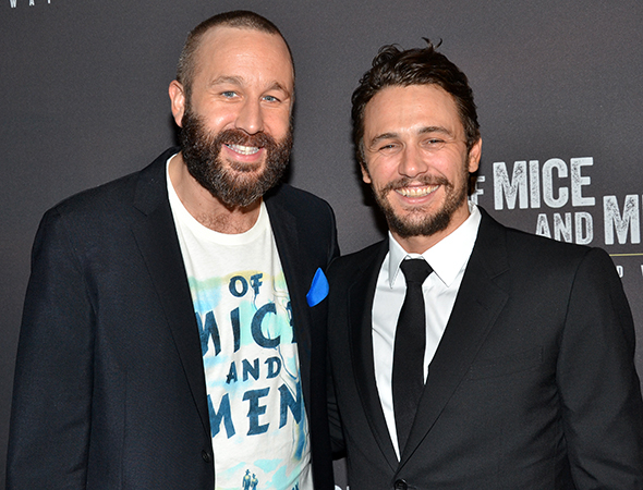 Of Mice and Men's Chris O'Dowd and James Franco