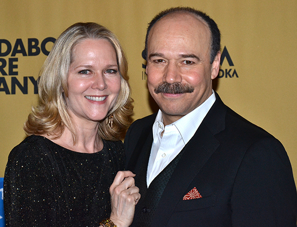 Cabaret's Danny Burstein is joined by wife Rebecca Luker.