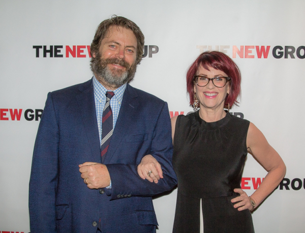 Annapurna's husband and wife team Nick Offerman and Megan Mullally