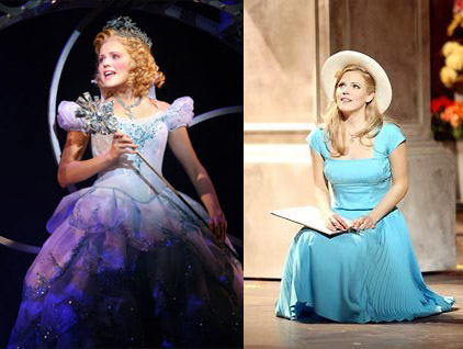 Clarke previously starred on Broadway as Glinda in Stephen Schwartz's Wicked and Clara in Adam Guettel's The Light in the Piazza.