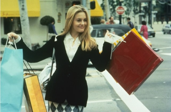 Alicia Silverstone as Cher in the 1995 film Clueless.