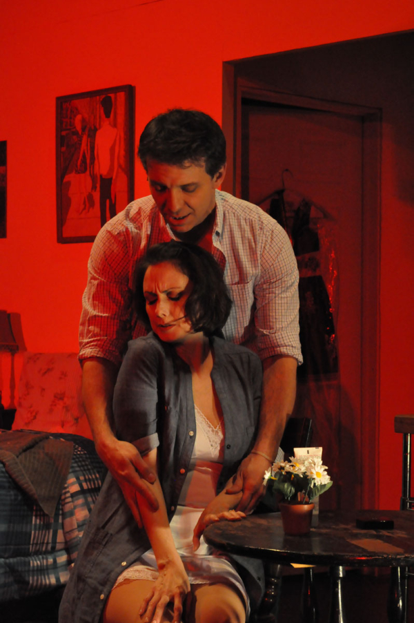 Montgomery and Jenkins performed together in Harbor Lights' 2011 production of Marry Me a Little.