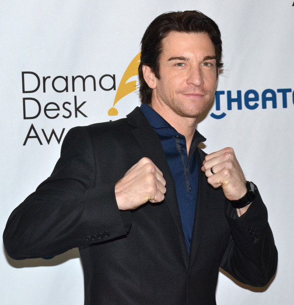 Andy Karl is among the 2014 Tony nominees who will take part in this year's Stars in the Alley concert on May 21 in Shubert Alley.