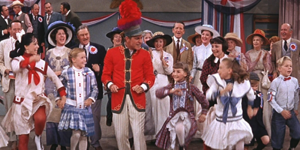 Robert Preston leads the band in the 1962 film version of Meredith Willson's The Music Man.