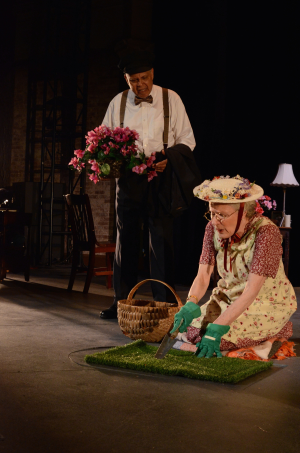 A scene from Harbor Lights' Driving Miss Daisy.