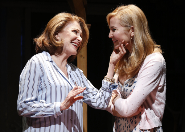 Linda Lavin and Jennifer Westfeldt star in Nicky Silver's Too Much Sun, directed by Mark Brokaw,at the Vineyard Theatre.