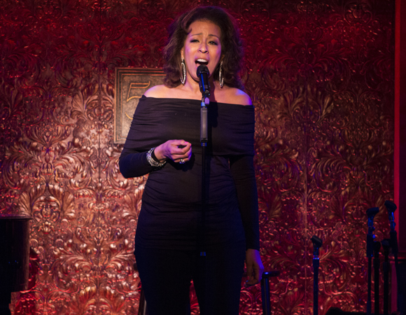 "Tamara Tunie performs a selection from Legends From the ""Burgh,"" to be seen on May 20 and 27."