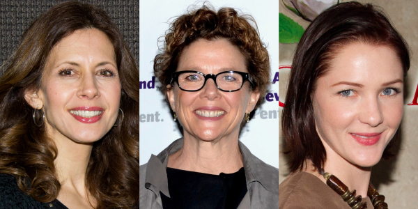 Annette Bening, Jessica Hecht, and Jessica Collins will play the daughters of Lear in Daniel Sullivan's production of King Lear at Shakespeare in the Park this summer.