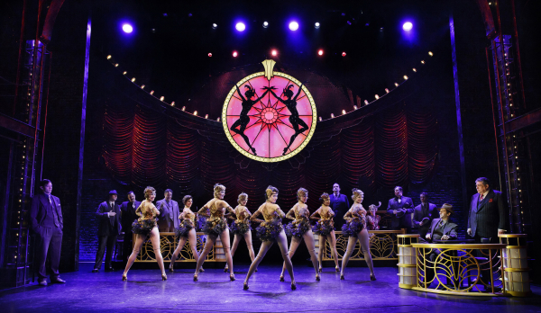 A scene from Bullets Over Broadway at the St. James Theatre.