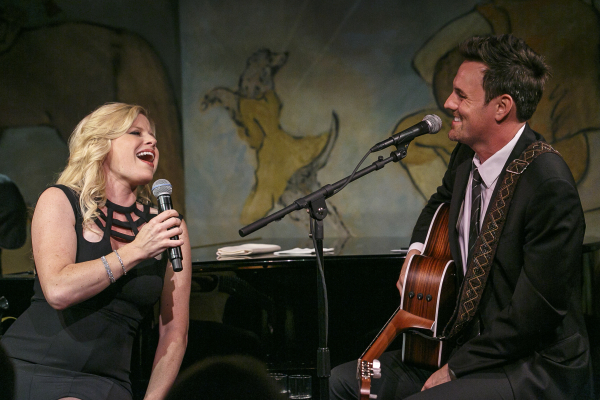Megan Hilty appears alongside her husband, Brian Gallagher, in her Café Carlyle debut.