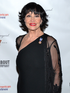 Chita Rivera will be among the performers participating in The National Yiddish Theatre – Folksbiene's Raising the Roof concert.