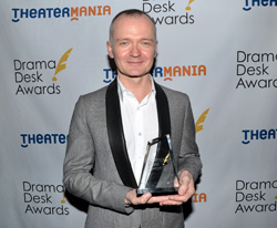 Darko Tresnjak won the Drama Desk Award for Outstanding Director of a Musical for A Gentleman's Guide to Love and Murder.
