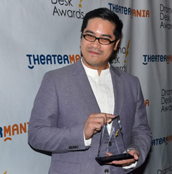 "Director Ed Sylvanus Iskandar won the Sam Norkin Off-Broadway Award for his ""visionary directorial excellence."""