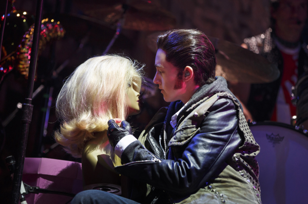 Lena Hall is a Tony nominee for her gender-bending portrayal of Yitzhak Hedwig and the Angry Inch at the Belasco Theatre.