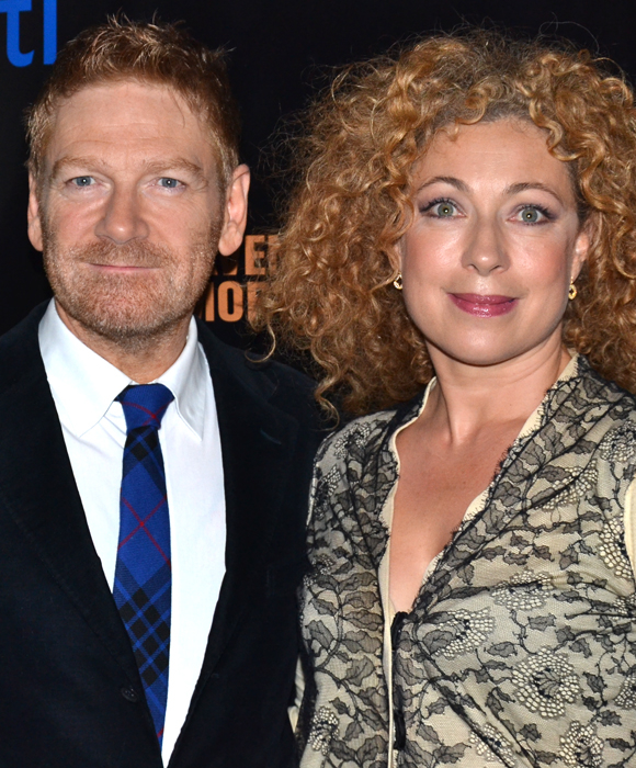 Kenneth Branagh and Alex Kingston make their New York stage debuts as Macbeth and Lady Macbeth at the Park Avenue Armory.