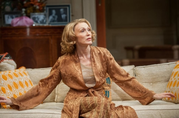Jan Maxwell plays Hester Ferris in Anthony Giardina's The City of Conversation, directed by Doug Hughes, at Lincoln Center Theater.