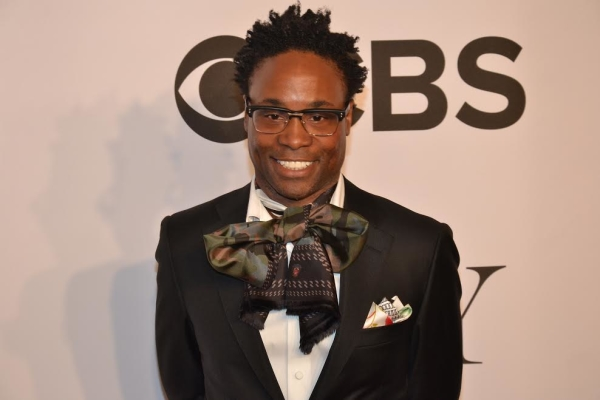 Presenter Billy Porter and 2013 Tony winner arrives at the 2014 Tony Awards.