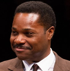 Malcolm-Jamal Warner as Dr. John Prentice in the Arena Stage production of Todd Kreidler's Guess Who's Coming to Dinner, directed by David Esbjornson.