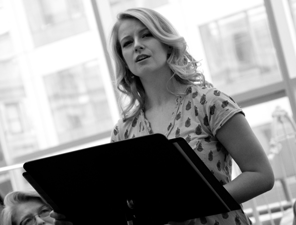 Whitney Bashor made her Broadway debut earlier this year in The Bridges of Madison County.