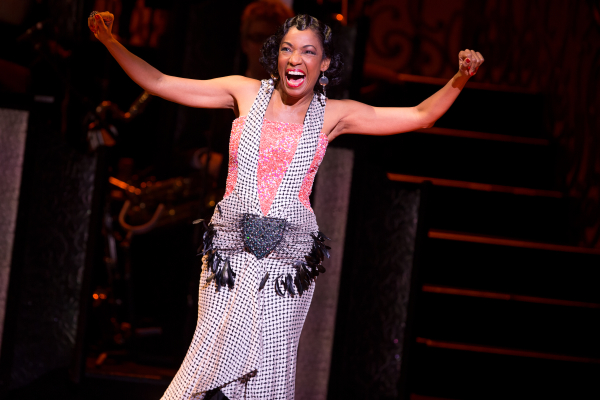 2014 Best Featured Actress Tony Award nominee Adriane Lenox in Broadway's After Midnight.