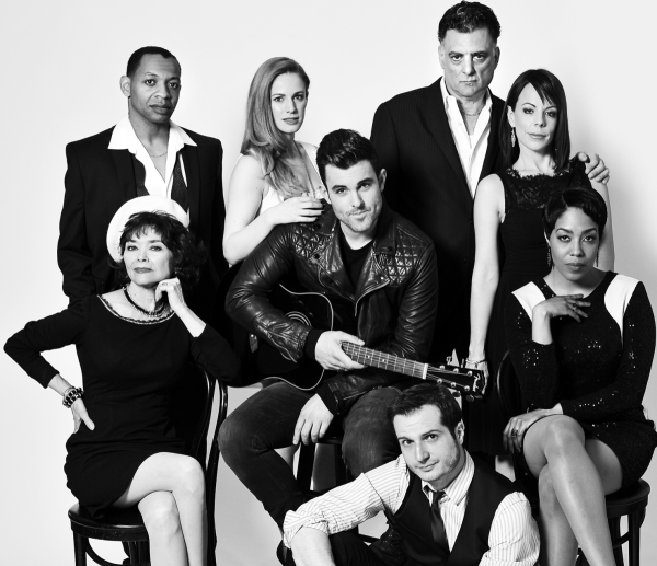 The cast of Piece of My Heart: The Bert Berns Story, beginning performances at the Pershing Square Signature Center on June 25.