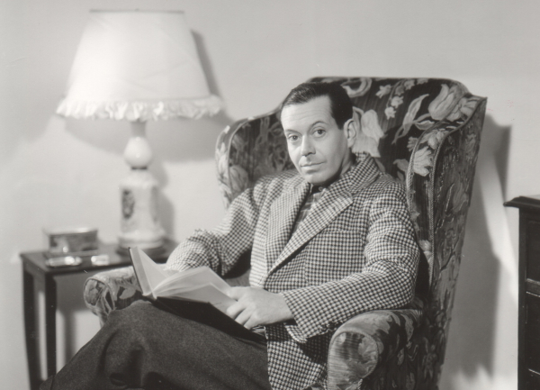 Cole Porter (seen here) is the author of The Ambassador Revue, which is making its American premiere at the Town Hall on June 27.