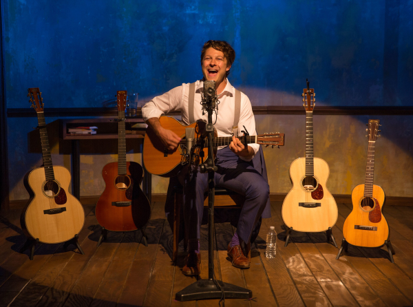 Benjamin Scheuer stars in his solo concert show, The Lion, a production of Manhattan Theatre Club directed by Sean Daniels.
