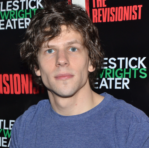 Jesse Eisenberg will star in the world premiere of his own play The Spoils during The New Group's 2014-15 season.