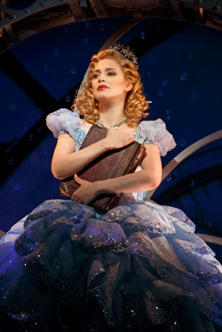Jenni Barber currently plays Glinda in Broadway's Wicked, which will offer an Actors Fund benefit performances on July 18.