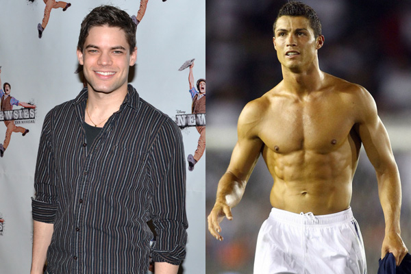 Jeremy Jordan/Cristiano Ronaldo of Team Portugal