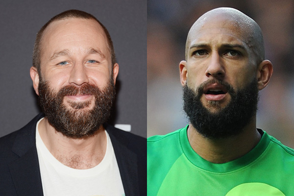 Chris O'Dowd/Tim Howard of Team USA