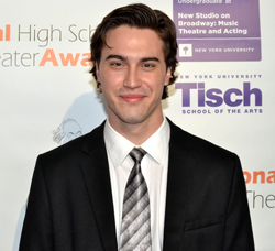 Jimmy Awards host Ryan McCartan