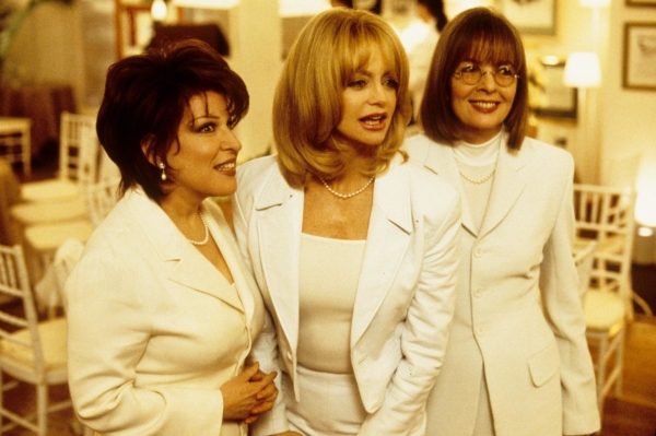 Bette Midler, Goldie Hawn, and Diane Keaton in the 1996 film The First Wives Club.