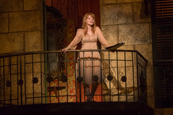 Jessica Chastain performs a scene from Romeo and Juliet at The Public Forum's Shakespeare in America.