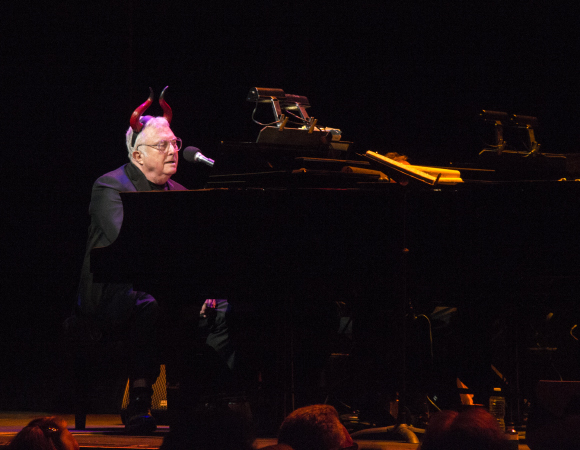 Randy Newman as The Devil in Faust: The Concert at New York City Center.