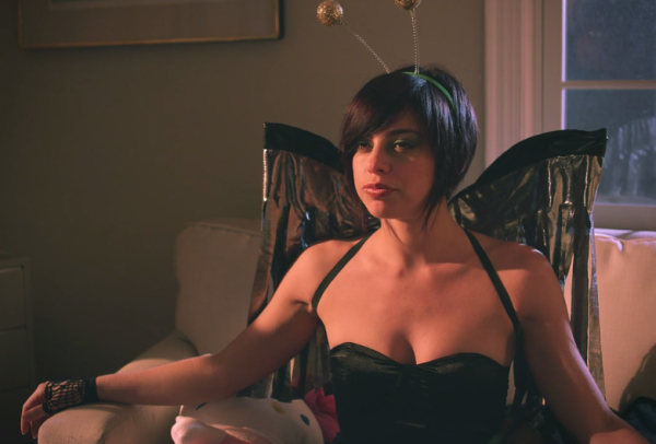 Krysta Rodriguez as The Fly Goddess on the web series Ian.
