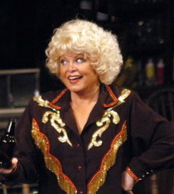 Sally Struthers as Louise Seger in one of her many productions of Always...Patsy Cline.