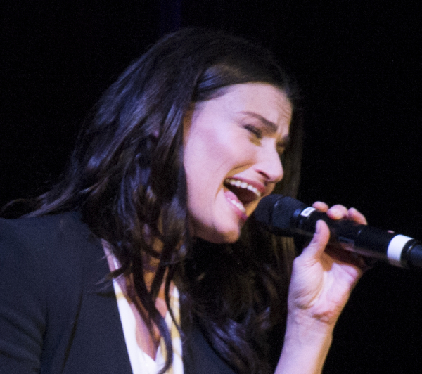 Idina Menzel will perform before the 2014 MLB All-Star Game on July 15.