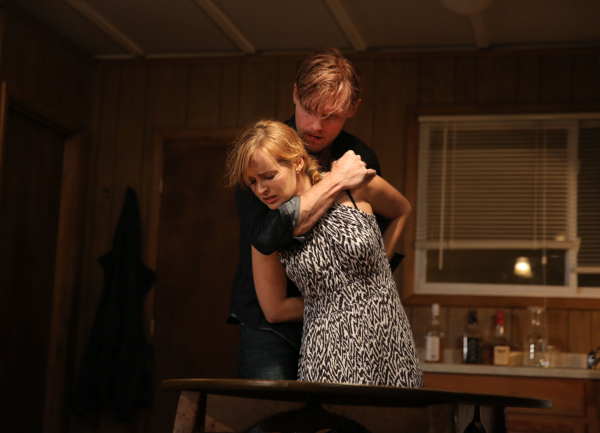 Ahna O'Reilly and Scott Haze star in Robert Boswell's The Long Shrift, directed by James Franco, at Rattlestick Playwrights Theater.