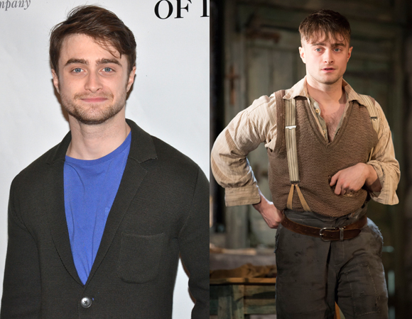 Daniel Radcliffe plays Billy Claven in Michael Grandage's production of Martin McDonagh's The Cripple of Inishmaan at the Cort Theatre.