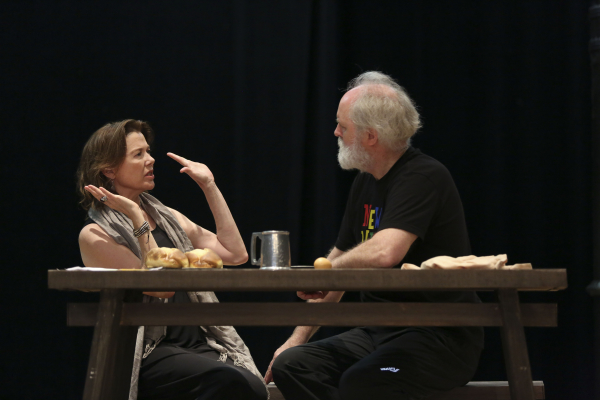 Annette Bening and John Lithgow star as Goneril and Lear in Shakespeare in the Park's King Lear.