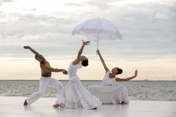 Dancers at the Fire Island Dance Festival 2014.