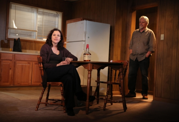 Ally Sheedy and Brian Lally in The Long Shrift, directed by James Franco at Rattlestick Playwrights Theater.