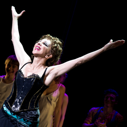 Andrea Martin in the Broadway production of Pippin.