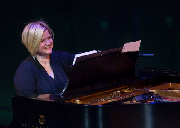 Mary-Mitchell Campbell performs in an American Songbook concert at Lincoln Center.